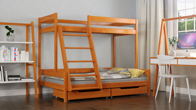 Bunk bed for kids Theo T1 7