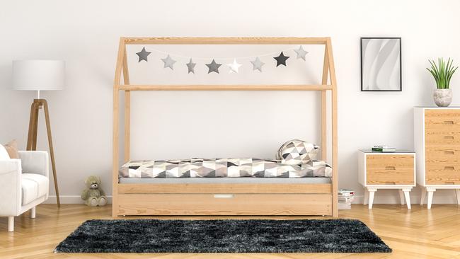 Montessori floor bed