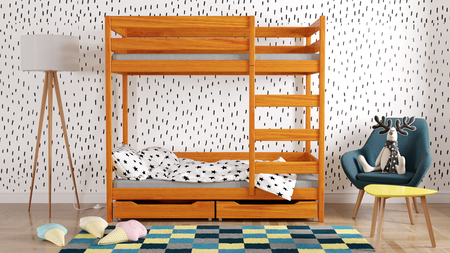 kid's bunk beds