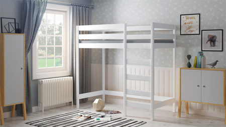children loft bed