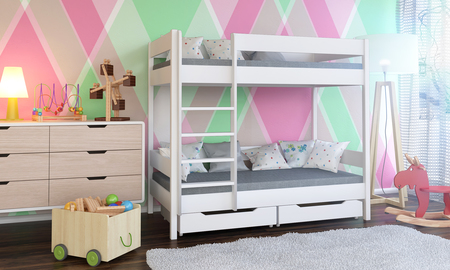 Dino bunk bed for kids