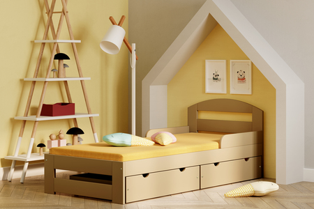 Timon S single bed for kids 5