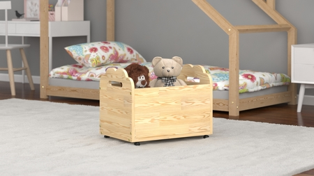 wooden toy crates