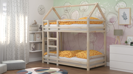 beds from solid wood, scandinavian beds, beds for children, single bed, ecological beds, eco beds, beds in Scandinavian style, bunk beds, bed for a child, beds for kids, bunk beds for children, bunk bed for a child, house bed, house bunk bed, bed for sibl