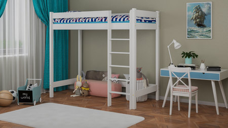 loft bed for children