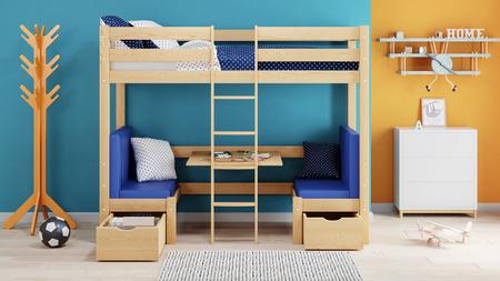 Kids Loft Bed Mila 2