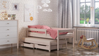 Maria single bed for kids with trundle 4