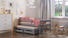 Maria single bed for kids with trundle 6