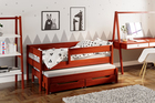 Jula single bed for kids with trundle 3