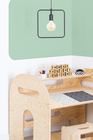 plywood furniture, eco furniture, children's furniture, children's desk, desk for kids