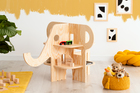 plywood furniture, eco furniture, table for toys, bookcase for toys, children's furniture